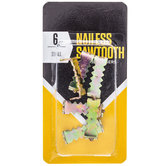 Nailless Sawtooth Picture Hangers - Small